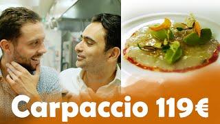 Carpaccio a 4€ VS Carpaccio a 119€