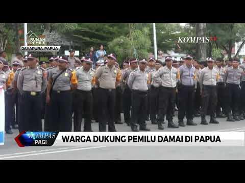 Warga Dukung Pemilu Damai Di Papua