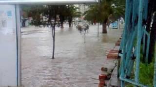 فيضانات  طنجة 24/12/2009