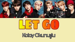 BTS - Let Go Kolay Okunuşu Renk Kodlu