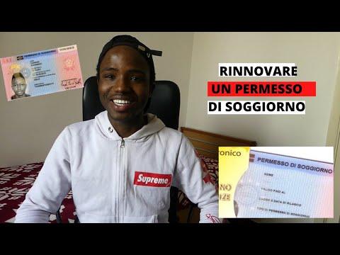 COME RINNOVARE UN PERMESSO DI SOGGIORNO IN (ITALIA)2019 ...