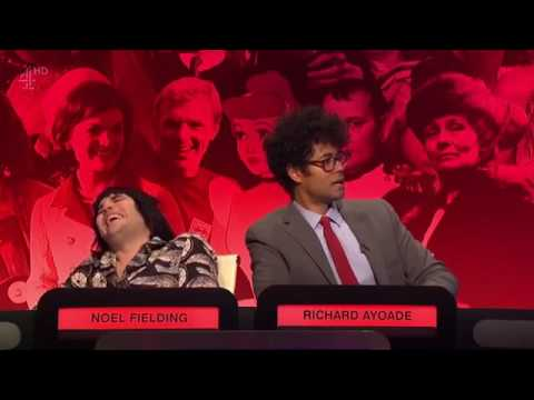 Richard Ayoade has a mental breakdown