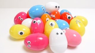 20 Surprise Eggs HELLO KITTY MINIONS MONSTER ACADEMY