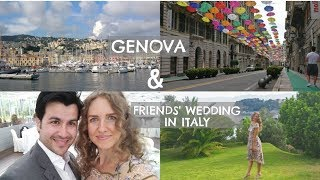 Genova & an Italian wedding | Travel vlog | BoulEVArds of EVA