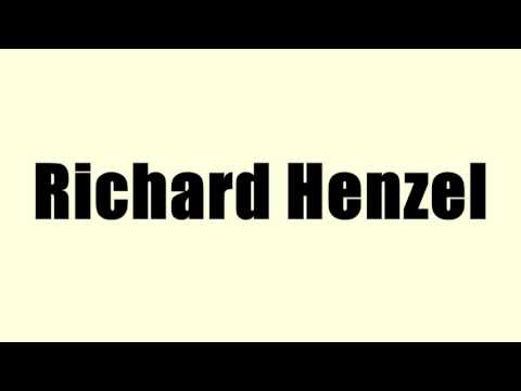 Richard Henzel