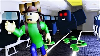 THE WEIRDEST AIRPLANE TRAVEL (with Camping Baldi)!! | Roblox Camping??: Airplane