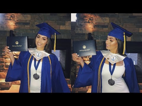 GET READY WITH ME♡ GRADUATION