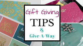 Top 10 Christmas Gift Giving Tips PLUS Erin Condren Give-A-Way