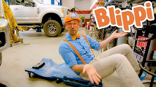 Big Day Out at the Truck Garage - Educational Videos for Kids