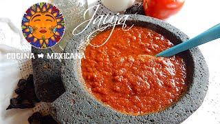 Mexican Red Salsa - Salsa Roja