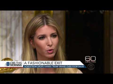 Nordstrom drops Ivanka Trump brand over poor sales