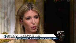 Nordstrom drops Ivanka Trump brand over poor sales