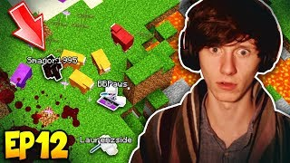 3 youtubers hunting me minecraft harmony hollow modded smp ep12 s3
