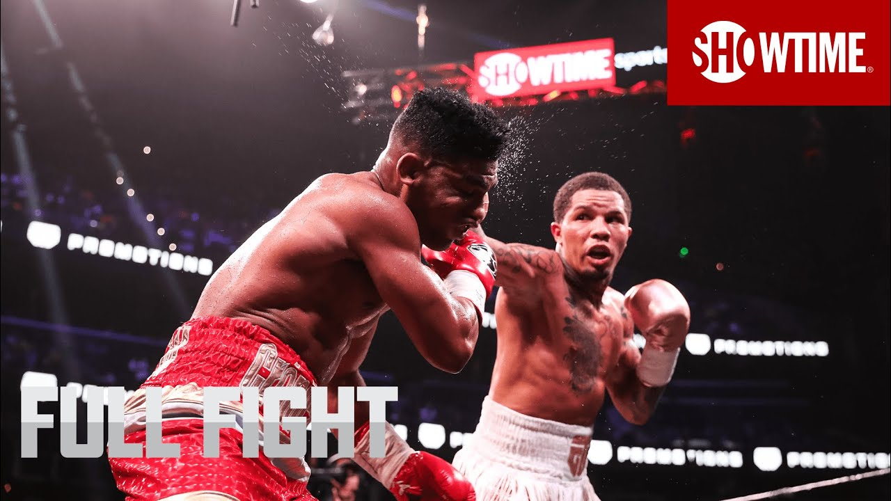 Baltimore's Gervonta Davis wins pair of titles with sixth-round knockout