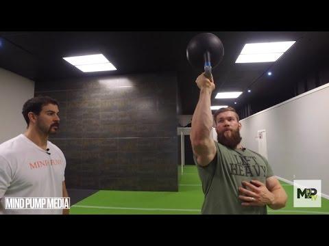 Shoulder Health Series- Build More Shoulder Mass!- Bottom Under Press (Video 5 of 5)
