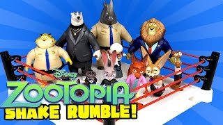 Disney Zootopia Shake Rumble featuring World of Zootopia Toys by KidCity