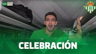 ¡Nos colamos en el autobús del Real Betis tras el triunfo en #ElGranDerbi!