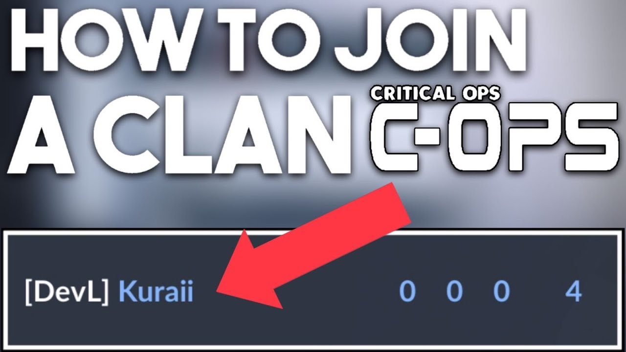 how to join a clan