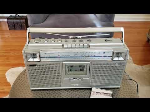 JVC RC-656 JW  Stereo Boombox