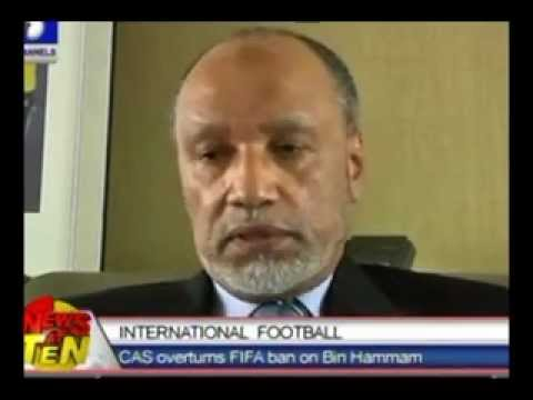 CAS overturns FIFA ban on Bin Hammam