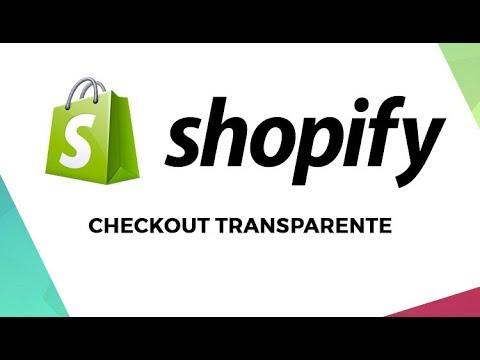 b8a41e12c Checkout transparente Loja Shopify - YouTube