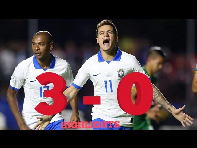 Brazil vs Bolivia Match All Goals and Highlights   Copa America 2019 #youtube#copa_america_2019
