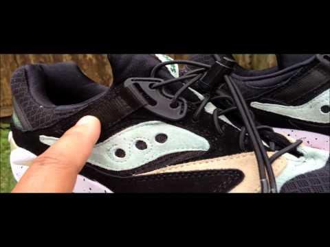 Saucony x Sneaker Freaker Grid SD 'Kushwacker' Sneaker Unboxing