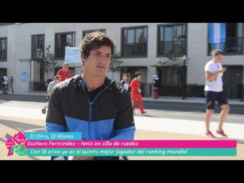 Gustavo Fernández: la joya del tenis paralímpico