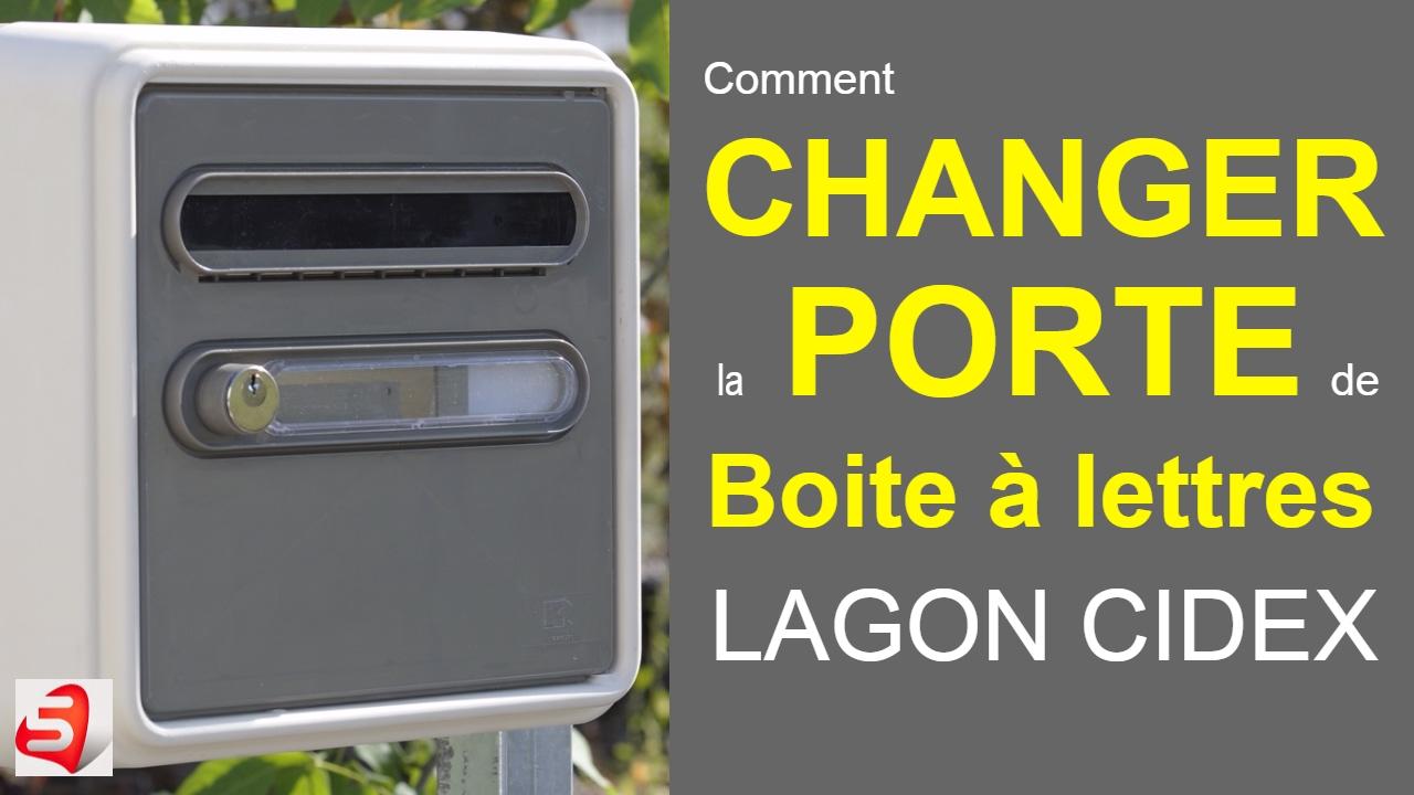 Changer une porte de boite aux lettres individuelle b1 Changer une porte