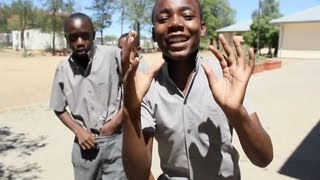 These Namibian Kids Can Rap!  (R. Kelly's