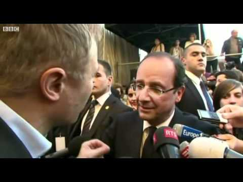 François Hollande speaking English