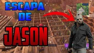¡¡ESCAPA DE JASON EN FORTNITE!! EL LABERINTO INFERNAL DE JASON - MINIJUEGO - FORTNITE