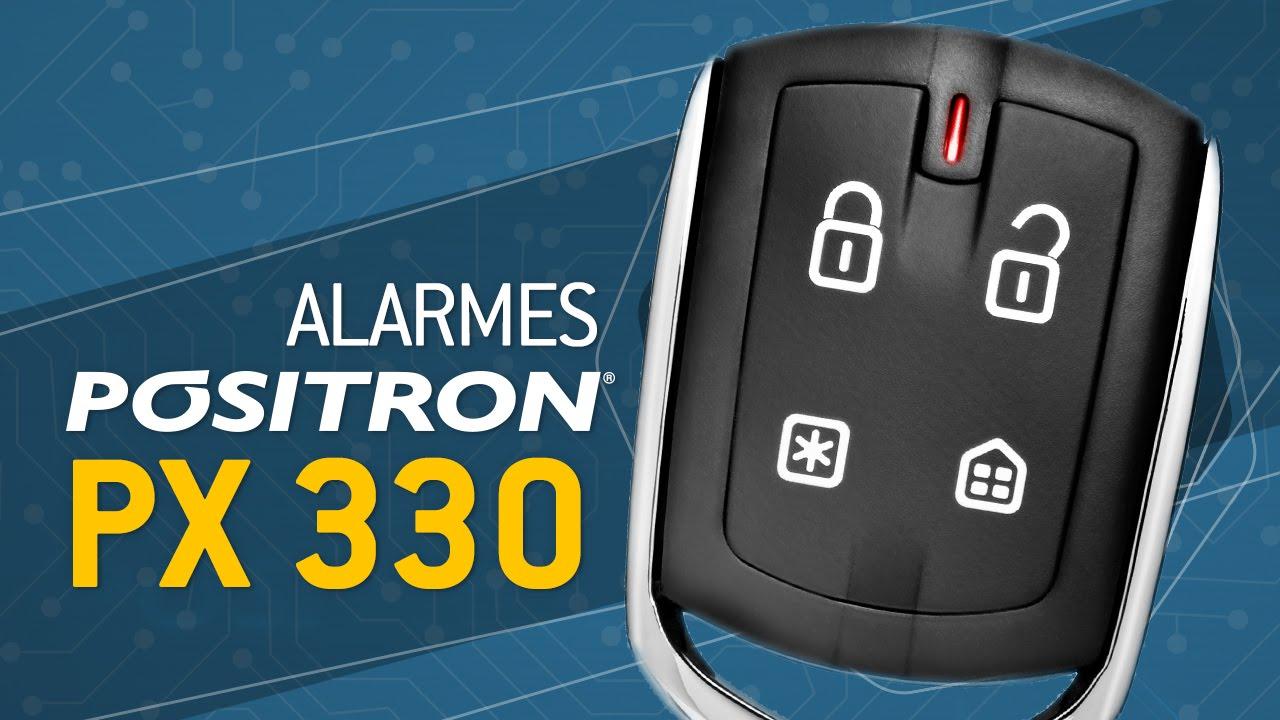 Alarme Automotivo Pósitron Cyber PX 330 - YouTube