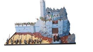 LEGO Lord of The Rings Custom Helms Deep Moc