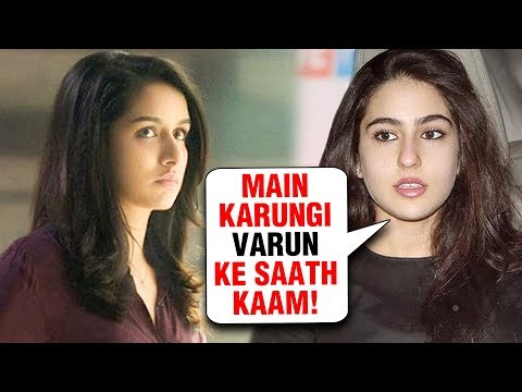Sara Ali Khan And Shraddha Kapoor FIGHT For A Movie With Varun Dhawan