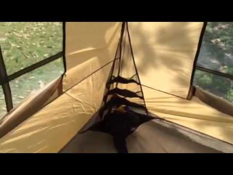 & Northwest territory front porch tent - YouTube