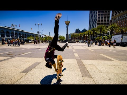 Skateboard Parkour in 8k - Streets of San Francisco!