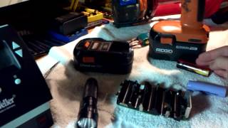 18 volt battery breakdown and explanation.