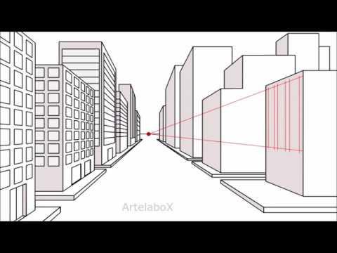 Prospettiva centrale for Disegnare una stanza in 3d
