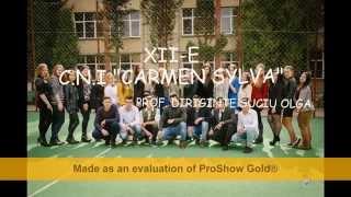 "C.N.I ""Carmen Sylva""-XII-E promotia 2011-2015"