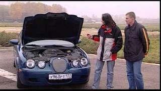 Наши тесты - Jaguar S-Type R vs Mercedes-Benz C63 AMG (сравнительный тест, ноябрь 2007)