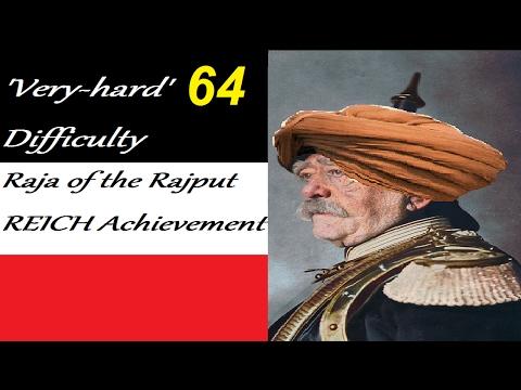 Eu4 Nagaur Raja of the Rajput reich on very hard part 64