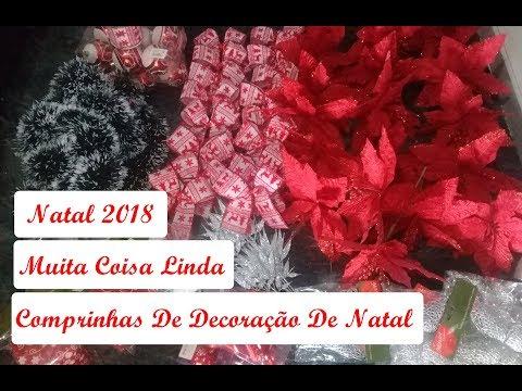 Comprinhas De Decoração De Natal 2018 Part:2