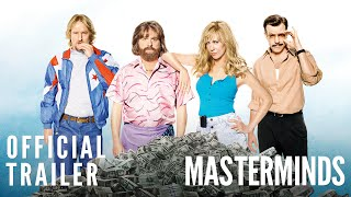 <i> Masterminds</i> Official Trailer