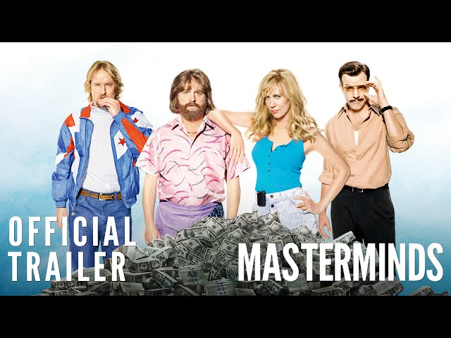 Masterminds - Official Trailer [HD]