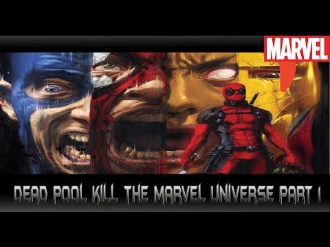 Deadpoolฆ่าล้างจักรวาลMarvel[Deadpool kill the marvel universe part1]comic world daily