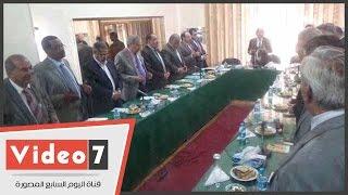 بالفيديو..اتحاد المحامين العرب يقف دقيقة حداد على ضحايا الإرهاب