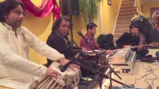 Raat Pehli Hai- Rafaqat Ali Khan and Haroon on Tabla with Hum Band