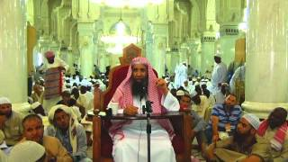16-55/ ماحكم من تحلل من التمتع باخذ شعرات يسيرة من جهة واحده ؟ ll الشيخ عبد المحسن الزامل