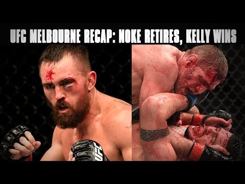 UFC Melbourne Recap: Kyle Noke Retires, Daniel Kelly's Big Win & More